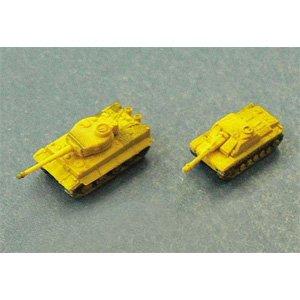 1/350 Battle Tank No.01 German Army Tank Set A Tigger / 3 StuG