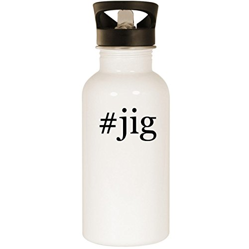 #jig - Stainless Steel 20oz Road Ready Water Bottle, White