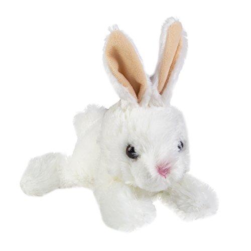 """Aurora Wold Plush Mini Flopsie Baby Bunny White 8"""""""
