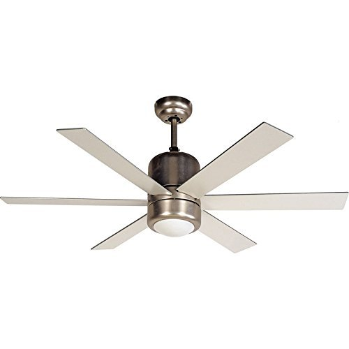 Hardware House 207324 Ceiling Fan, Satin Nickel Finish