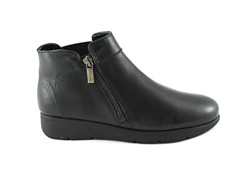 Grunland bene PO1302 Black Women Shoes Mid Ankle Boots Zip Elastic Nero seFAGQbzE