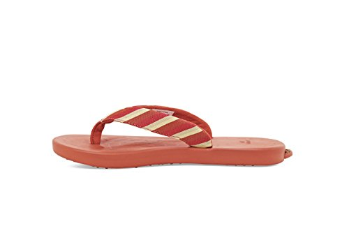 Softscience The Waterfall Stripe Comfort Casual Scarpe Femminili Corallo