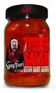Guy Fieri Salsa, Seven Pepper, 16 Ounce (Pack of 6)