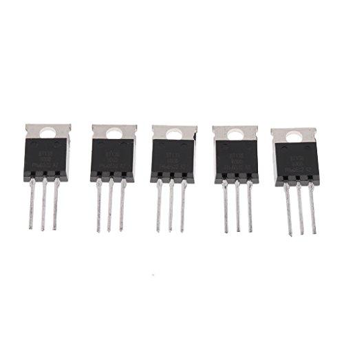 Price comparison product image Almencla 5pcs BT136 600V 4A Amp Triac TO220 Touch Dimmer Light
