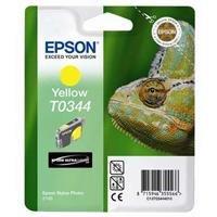 4 opinioni per Epson C13T03444010 Cartuccia Inkjet Ink Pigmentato Blister RS, Giallo
