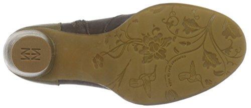 El Naturalista N472 IBON COLIBRI - Botas cortas para mujer Multicolor (BROWN-LEAF NUR)