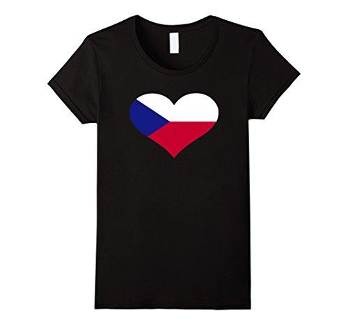 Czech Republic Flag Heart - 1