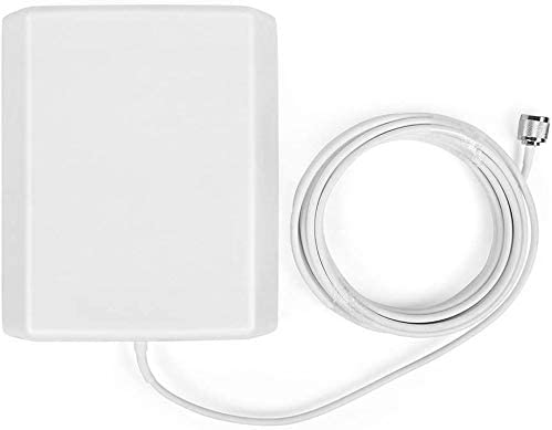 ORPEY 2G 3G LTE 4G Internal Wall Cell Phone N-Male Directional Panel Antenna 16.4ft 5m Cable for Signal Booster Amplifier Accessories