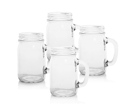 Old Fashioned Drinking Jars Set of 4 by Cathys Concepts