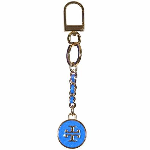 Tory Burch Mercer Leather Keychain Keyfob (Baby - Baby Tory Burch