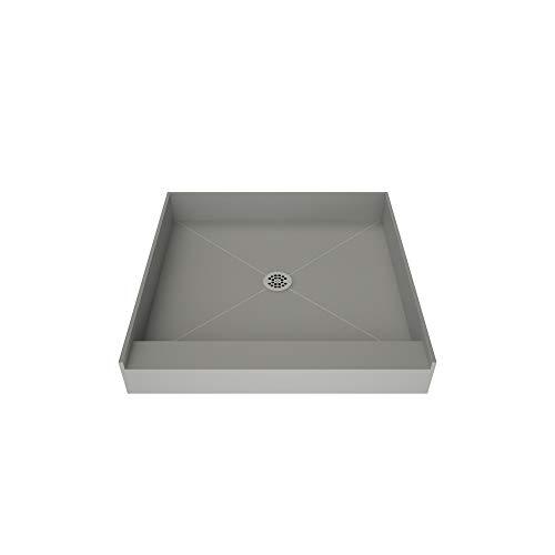Tile Redi USA 3636C-PVC Base Shower Pan, 36