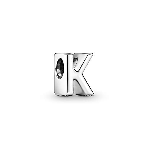 Pandora Jewelry - Letter K Alphabet Charm in Sterling Silver
