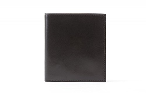 Bosca Mens Old Leather 12 Pocket Credit Wallet (Black)