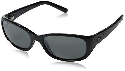 Maui Jim Sunglasses - Kuiaha Bay / Frame: Midnight Black Lens: Neutral Grey