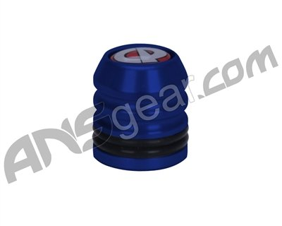 Custom Products CP Metal Fill Nipple Cover Dust Cap Blue NEW ()