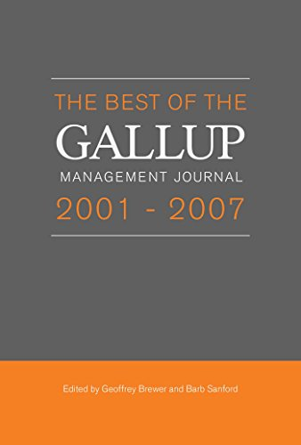The Best of the Gallup Management Journal - 2005 Brewer