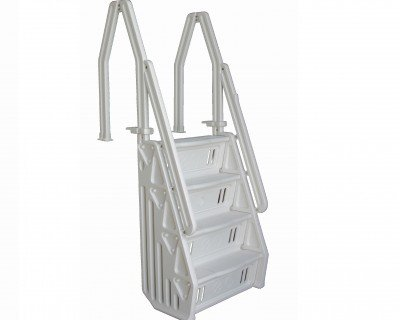 Vinyl Works Ladder (Vinyl Works Deluxe Above Ground In-Pool Step Ladder - 32 Inch)