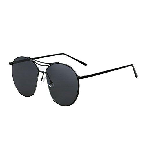 Grande Cara UV Mujeres DT Retro Redondo Color de 1 Cara Mujer Gafas de Sol 1 Protección Gafas Sol pR6Fcfpz