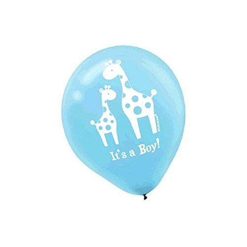 Sweet Safari Boy Printed Latex Balloons ()