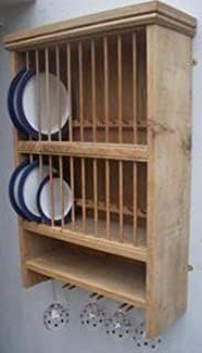 Oak Plate Rack Wall Mounted Cosmecol & Terrific Wall Mounted Plate Rack Uk Photos - Best Image Engine ...