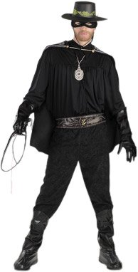 Halloween Costume 38.Amazon Com Adult S Deluxe Zorro Halloween Costume Size Standard