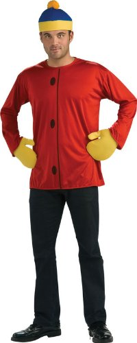 Cartman South Park Adult Costumes (South Park Kid Adult Costume Cartman - Standard)