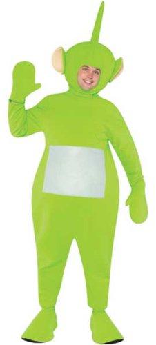 Rasta Imposta Teletubbies Adult Dipsy Costume, Green, One Size