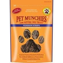 Pet Munchies Venison Strips, 75 G