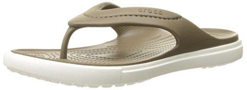 Mixte Tongs Citilane Marron Walnut Adulte White Crocs EvT7ZqS