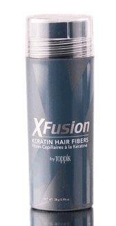 XFusion Economy Size (28g) Keratin Hair Fibers, Light Blonde