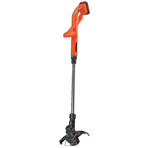 Black & Decker LST201R 20V MAX 1.5 Ah Cordless Lithium-Ion 10 in. String Trimmer/Edger (Certified Refurbished)