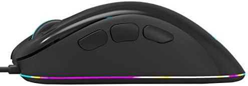 PTICA Souris MG10 Gaming Mouse 6200 DPI avec lumière LED 8 Boutons Mause pour Souris Gamer Ordinateur Portable