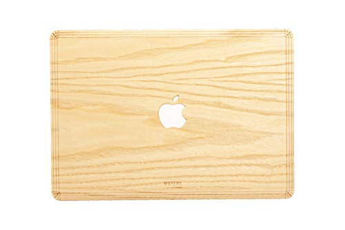 WOODWE Real Wood MacBook Skin Sticker Decal for Mac pro 15 inch Retina Display | Model: A1398; Mid 2012 – Mid 2015 | Genuine & Natural ASH Wood | TOP&Bottom Cover by WOODWE (Image #8)