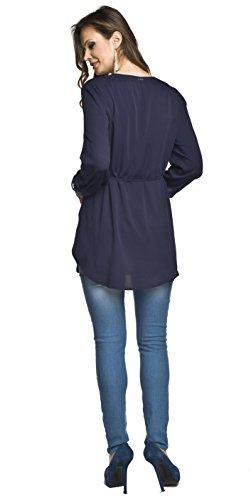 Torelle - Camisas - Manga Larga - para mujer azul oscuro