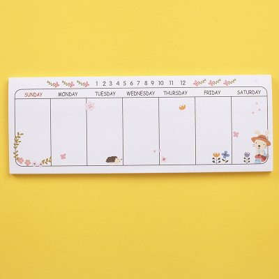 Sticky Notes BookMark Pads Set of 6 Colorful - 6