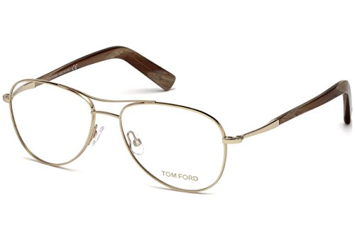 Tom Ford FT5396 C54 GOLD BROWN HORN