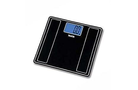 Tanita Glass - Báscula digital con retroiluminación azul.: Amazon.es: Salud y cuidado personal