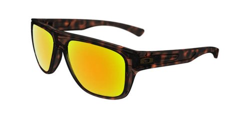 Oakley mens Breadbox OO9199-05 Iridium Polarized Sport Sunglasses,Tortoise,55 - Oakley Sunglasses Box