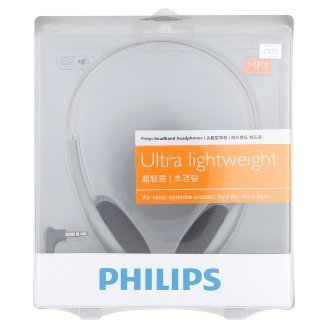 Philips SBCHL140 Model Ultra Lightweight Headband Headphones