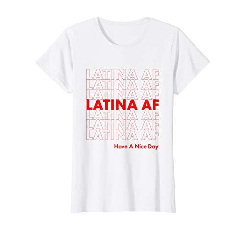 Af Shirt - LATINA AF Latin Pride Womens & Girls Shirt