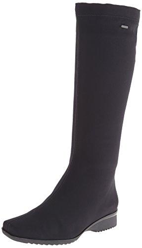 ara Women's Paula Boot,Black Fabric,8 M US