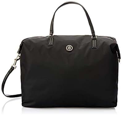 Tommy Hilfiger Women's Weekender Tote Bag, Black, One Size