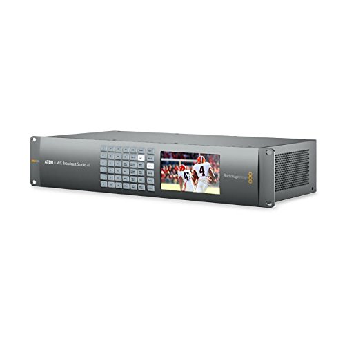 Blackmagic Design ATEM 4 M/E Broadcast Studio 4K - Live Production Switcher