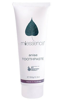 Anise Toothpaste, Miessence, 5.3 oz