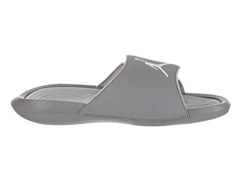 7fcac294fb0e Nike Jordan Hydro 6 Black White Wolf Grey Men s Sandals Size 9 ...