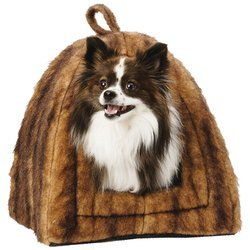 Maxam™ Pet Club Faux Mink Pet House