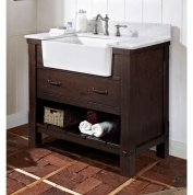 Fairmont Designs 1506-FV36 Napa 36'' Farmhouse Vanity - Aged Cabernet by Fairmont Designs