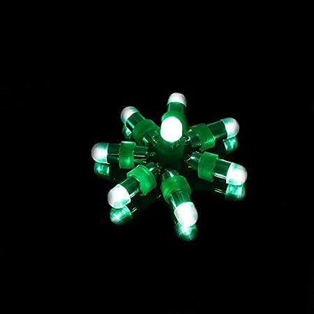 Amazon.com: Lote de 10 mini luces LED sumergibles y ...