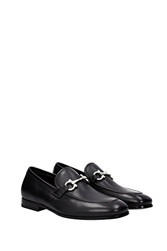 Salvatore Ferragamo Loafers Men - (FUNES0661633) UK Black