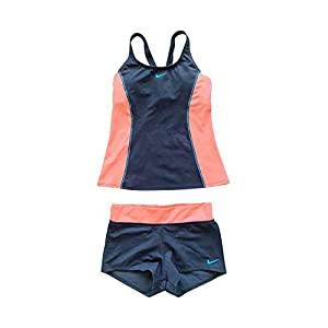 Nike Women's Tankini Athletic Two-Piece Swimsuit
